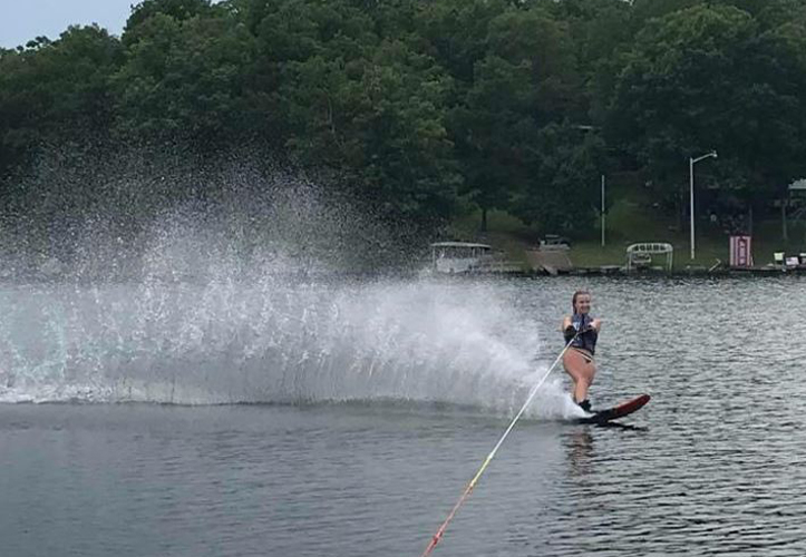 Waterskiing after pinched nerve